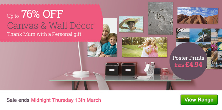 Up to 76% OFF Canvas & Wall Decor