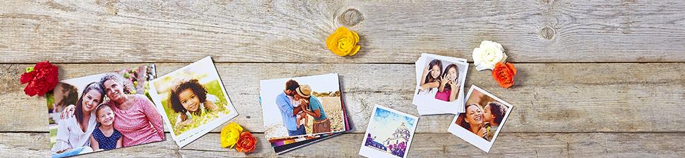 Fotoabzüge in verschiedenen Formaten und Größen
