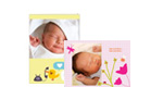 Baby themed cards