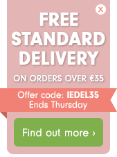 Free Delivery on orders over €35
