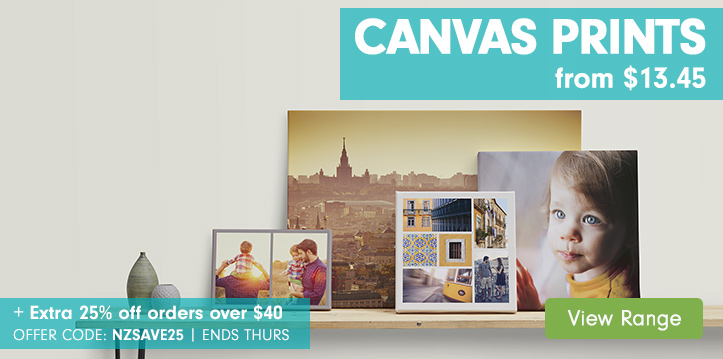 Canvas Prints from $13.45