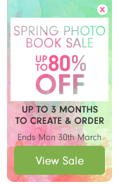 Spring Photo Book Sale – up to 80% off