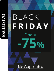 Black Friday Fino a -75%