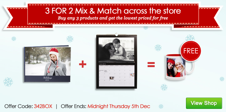 3 FOR 2 Mix & Match across the store