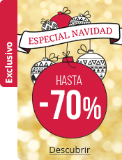 Especial de Navidad hasta -70%