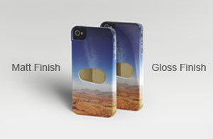 iPhone Matt and Gloss Finish Cases