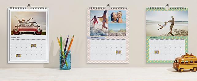 A4 Holiday Photo Calendar