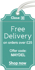 Free Standard Delivery on orders over £25