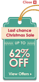 LAST CHANCE CHRISTMAS SALE