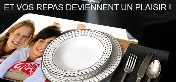 Set de table personnalis pour des repas uniques photobox for Set de table plastifie personnalise
