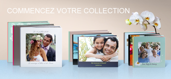 Pack 3 livres photo