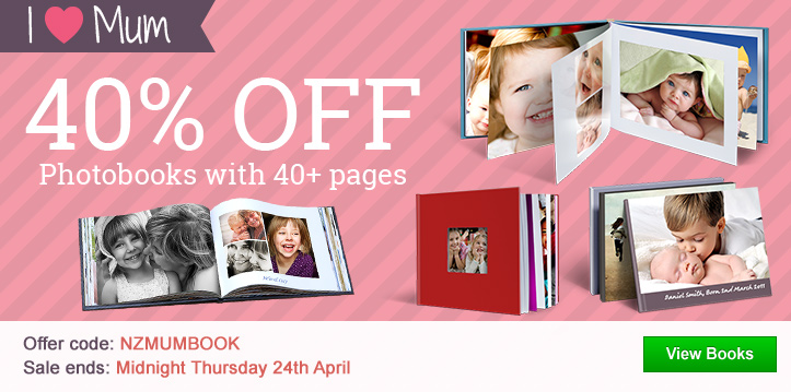 40% OFF Photobooks