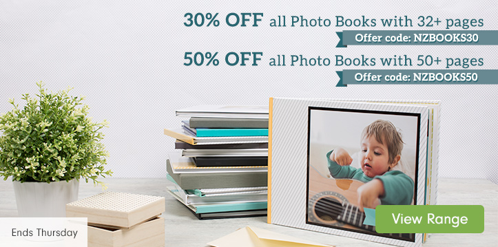 Up to 50% OFF all Photo Books