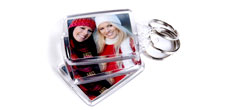 Personalise Keyrings with your own photo