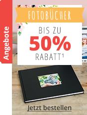 Fotobücher  Bis -50%¹
