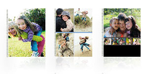 Cahier photo modèle Simple