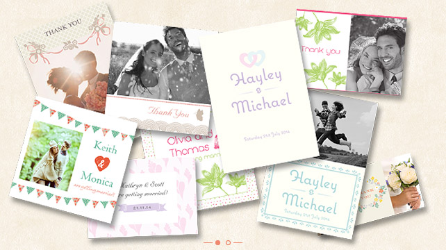 wedding invitations and thank you photo cards photobox With wedding invitations photobox