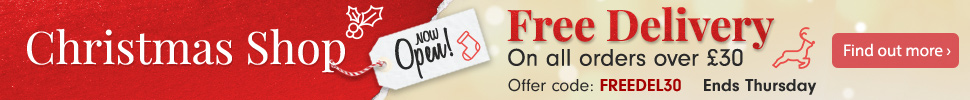 Free Delivery on all orders over £30
