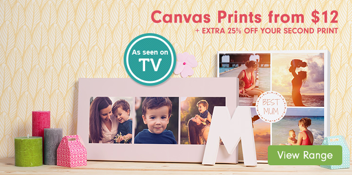 Canvas Prints from $12