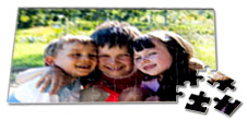Personalise a jigsaw with your own photo