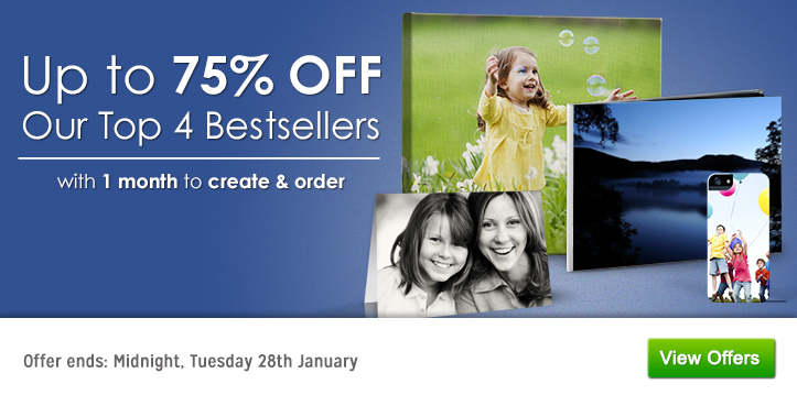 Up to 75% OFF Bestsellers