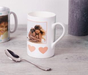 Mug Porcelaine personnalisé pour la fête des mères