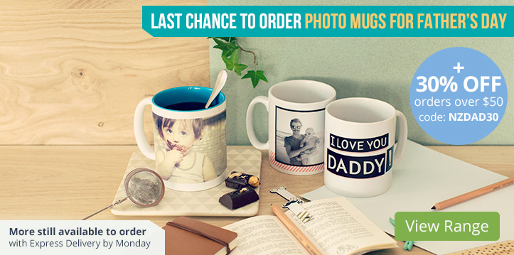 Photo Mugs from $10.95