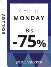 Cyber Monday Bis zu 75% Rabatt