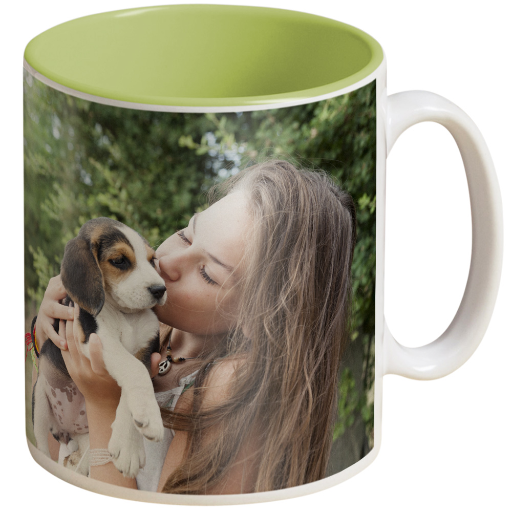 Colour Bright Personalised Photo Mugs
