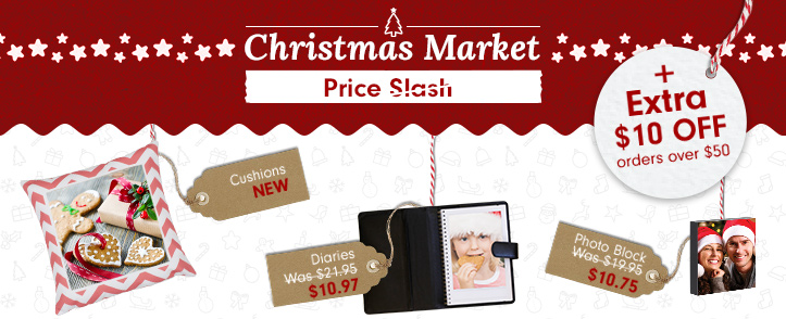 Christmas Market now open - up to 70% off + Extra $10 off on orders over $50