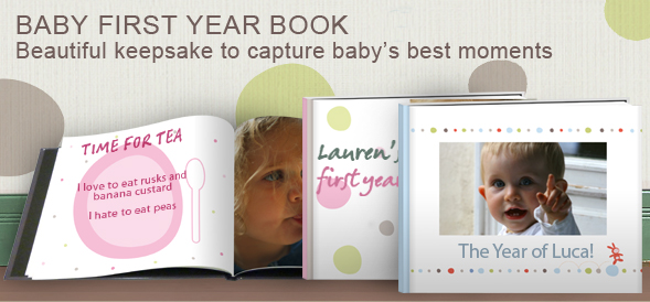 Baby First Year Photobook