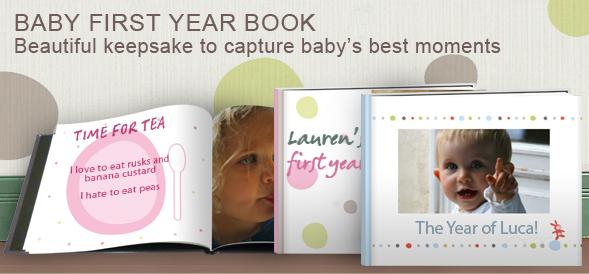 Baby First Year Photobook