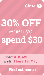 30% OFF when you spend $30