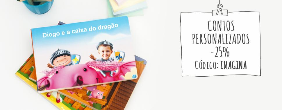 Apresentamos-lhe os nossos contos infantis personalizados. Faça das suas crianças a personagem principal.