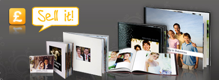 Sell photo books through your gallery