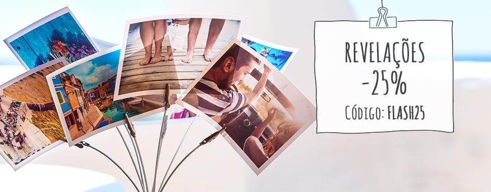 Imprima as suas fotos de forma rápida e simples. Só precisa de alguns minutos e irá recebê-las em casa.
