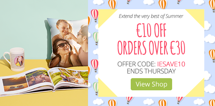 €10 OFF orders over €30