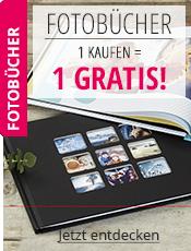 Fotobücher 1 kaufen = 1 GRATIS