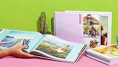 Fotoböcker : Upp till 50% rabatt