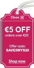 €5 OFF orders over €20