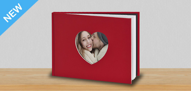 A4 Love Heart Book (100 pages)