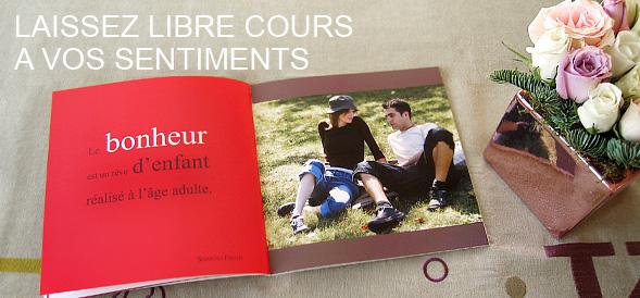 Livre amour avec vos photos