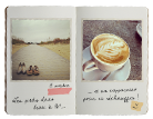 Vintage Fotoschrift