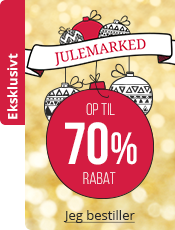 Julemarked Op til 70% rabat