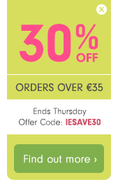 30% off orders over €35