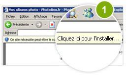 Sur Internet Explorer