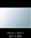 Create 80x60cm