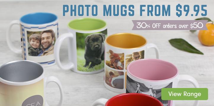 Photo Mugs from $9.95