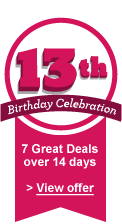 7 great deals over 14 days