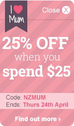 25% OFF when you spend $25